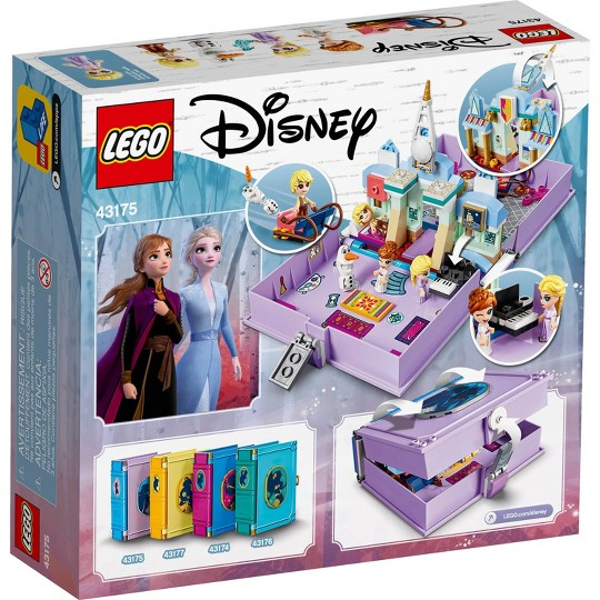 LEGO Disney Anna and Elsa's Storybook Adventures 43175 Princess Building Playset image number null
