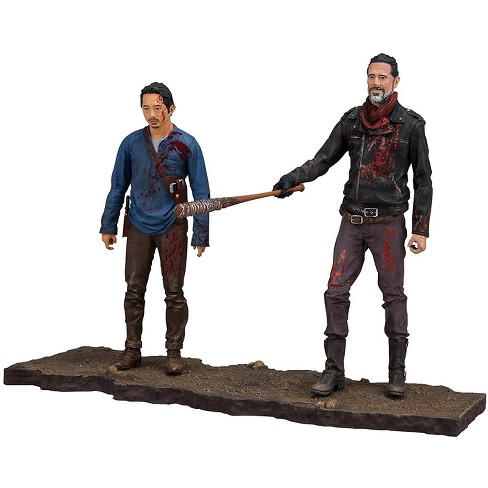 McFarlane Toys The Walking Dead AMC TV Negan and Glenn Action Figure 2-Pack [Lucille Bat!] - image 1 of 2