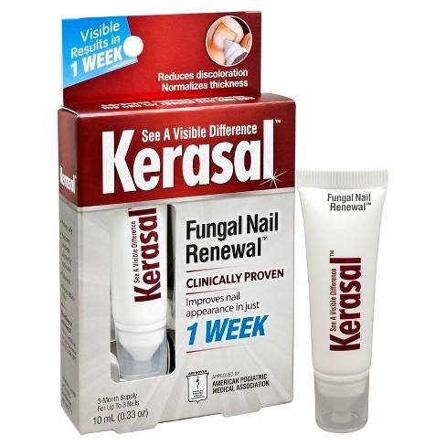 Kerasal Fungal Nail Renewal Treatment 0 33 Oz Target