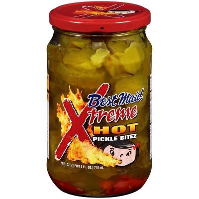 Best Maid Xtreme Hot Pickle Bites - 24oz