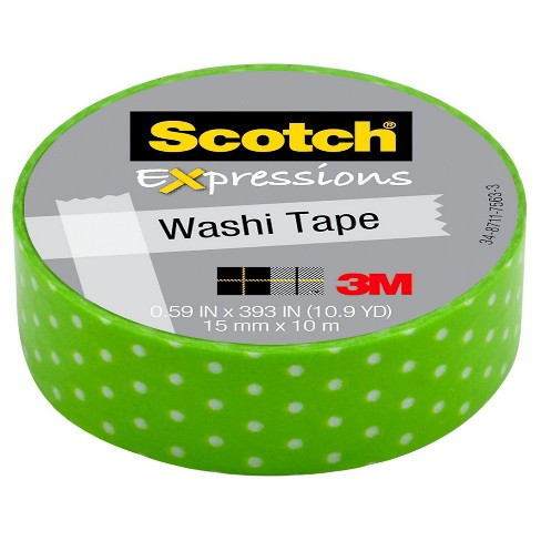 Self-adhesive Tapes 32.8 ft Assorted 10m SCOTCH - image 1 of 1