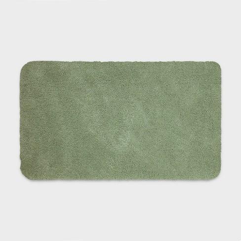 20 X34 Performance Nylon Bath Rug Dark Sage Green Threshold Target