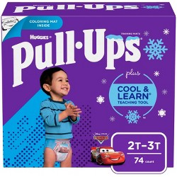 Huggies Pull Ups Cool and Learn Boys' Training Pants Super Pack - (Select Size)