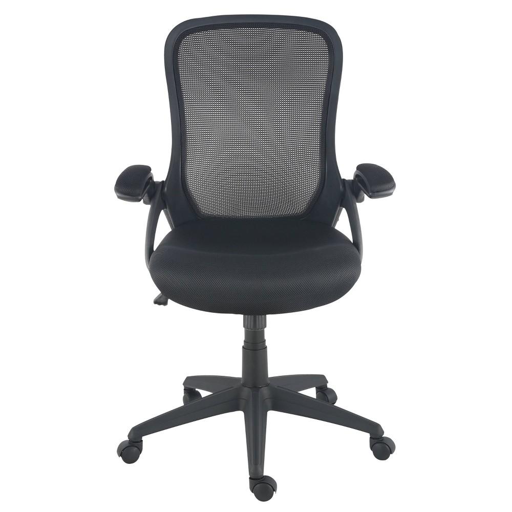 Stephanie Office Chair Black - Poly & Bark Best