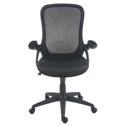 Stephanie Office Chair Black - Poly & Bark - image 1 of 4