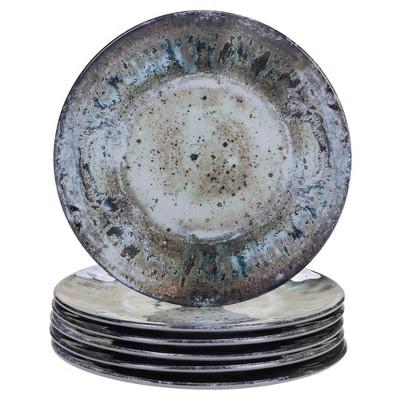 "8.5"" 6pk Radiance Cream Melamine Salad Plates - Certified International"
