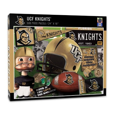 NCAA UCF Knights Throwback Puzzle 500pc