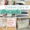 "Craft Basics 28"" x 29"" 10pk American Flour Sack Towel - image 4 of 4"