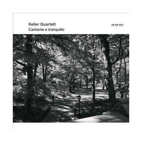 Keller Quartet - Cantante E Tranquillo (CD) - image 1 of 1