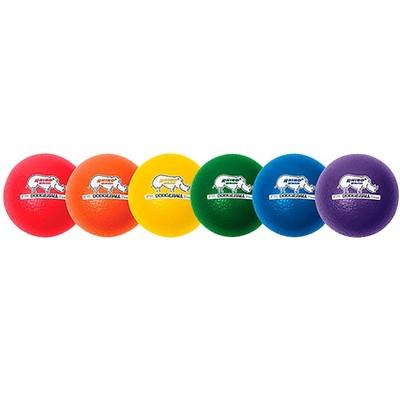 Champion Sports Rhino Skin Dodgeballs, set of 6