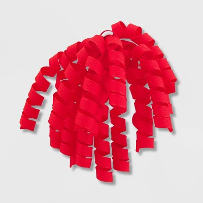 Fabric Grosgrain Swirl Red - Spritz™