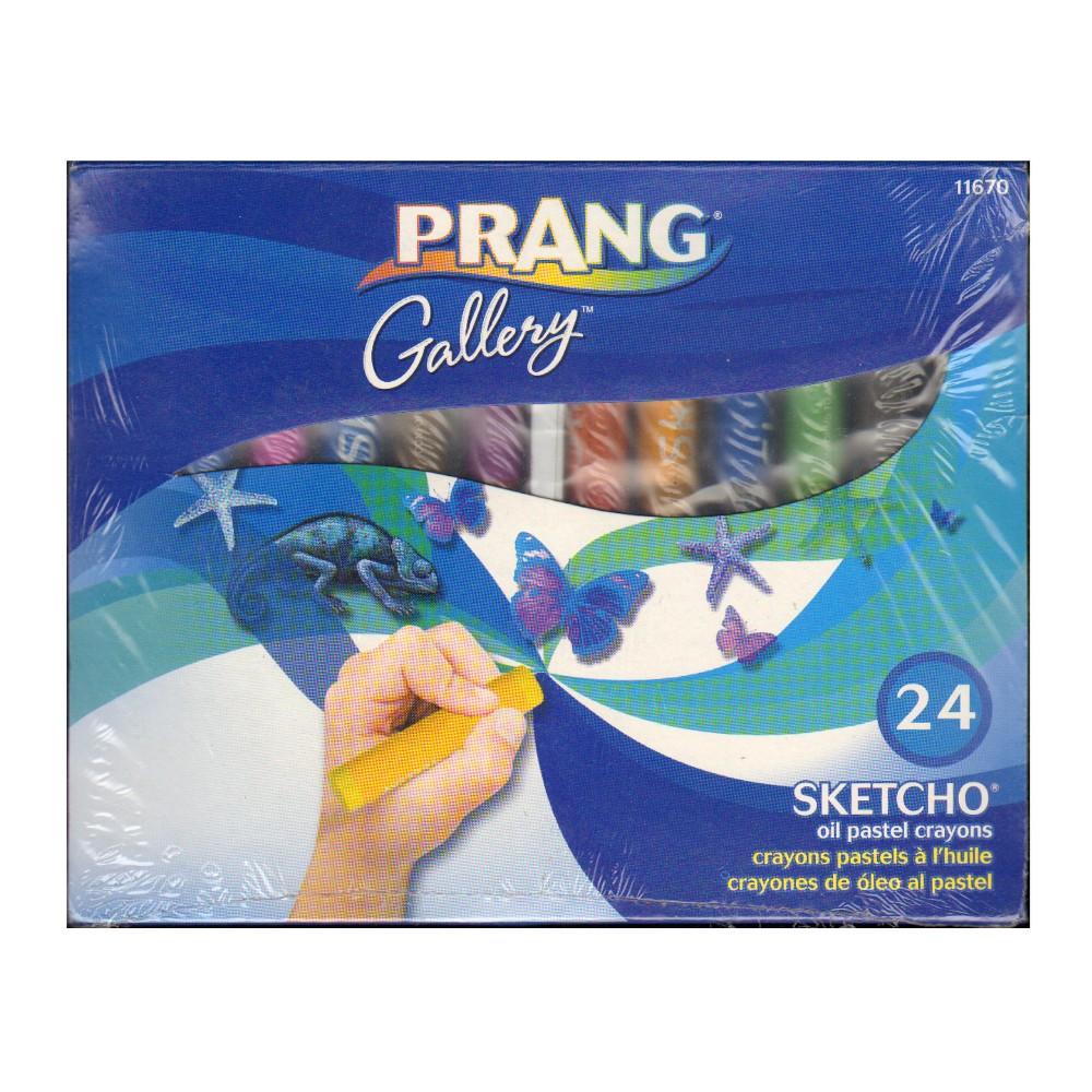 Image of Sketcho Oil Pastel Crayons 24ct - Prang