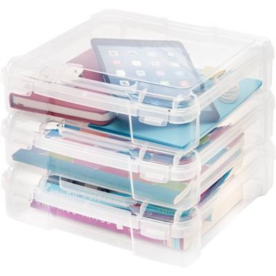 IRIS 6pk Portable Project Case Clear