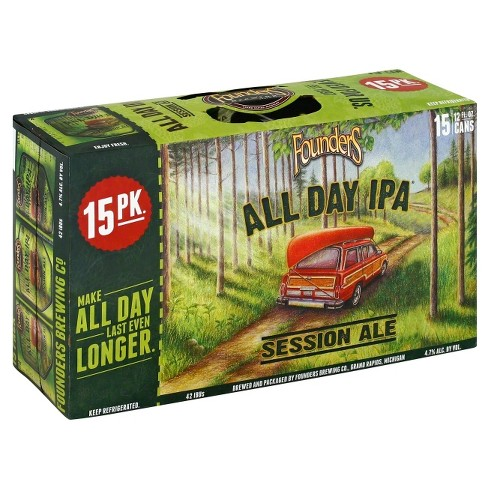 Founders® All Day IPA - 15pk / 12 fl oz Cans - image 1 of 1