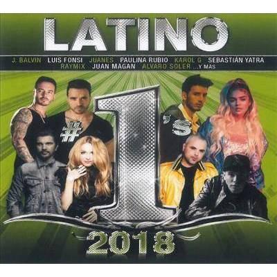Various Artists - Latino #1's 2018 (CD)