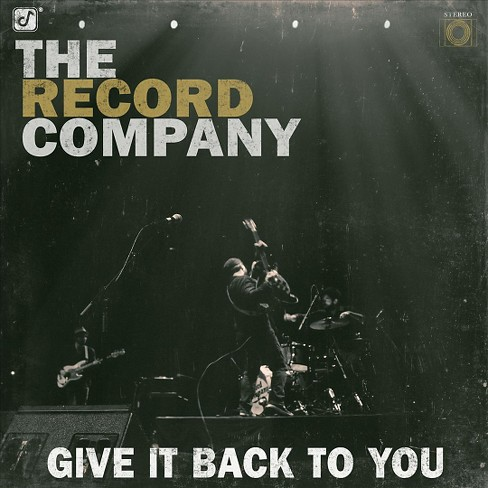 Record company - Give it back to you (CD) - image 1 of 1