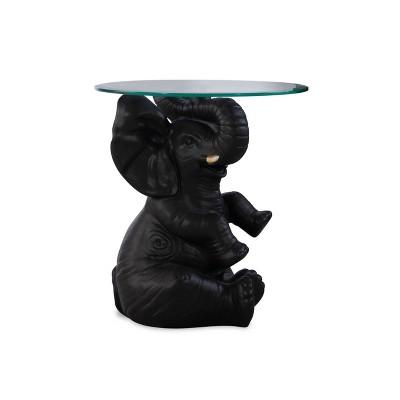 Elwyn Side Table Dark Gray - Powell Company