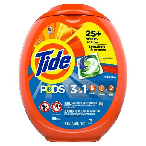 Tide Pods Laundry Detergent Pacs Original - image 1 of 3