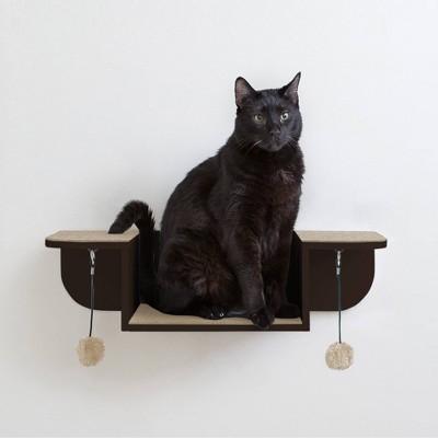 Hauspanther Nest Perch Cat Scratcher - Espresso