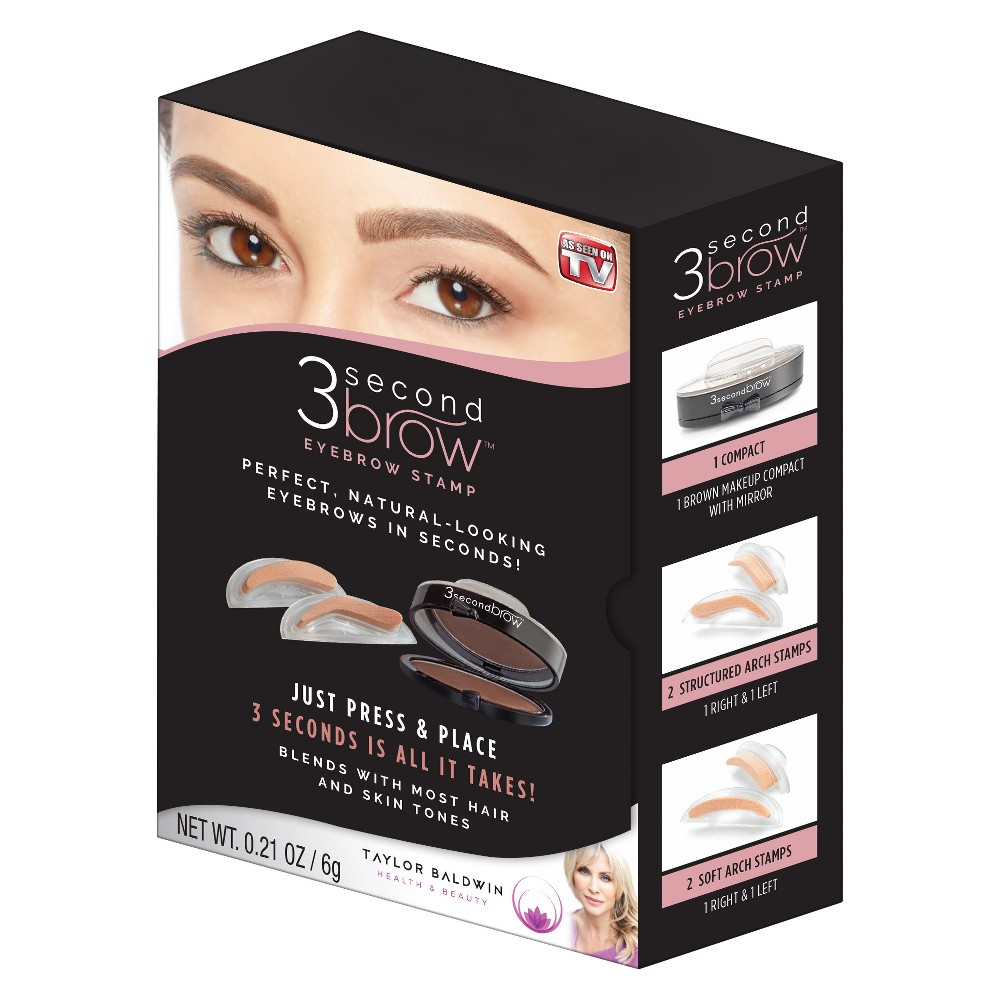 As Seen on TV 3 Second Eyebrow Stamp, Brown