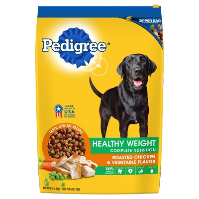 PEDIGREE Adult Healthy Weight (Roasted Chicken & Vegetable)- Dry Dog Food - 15lb