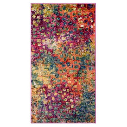 Zoey Shapes Splatter Loomed Area Rug - Safavieh - image 1 of 3