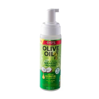 ORS Olive Oil Wrap/Set Mousse Set - 7 fl oz