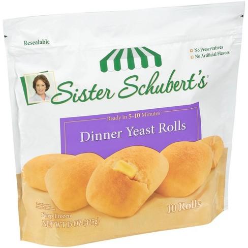 Sister Schubert's Frozen Dinner Yeast Rolls - 15oz - image 1 of 3