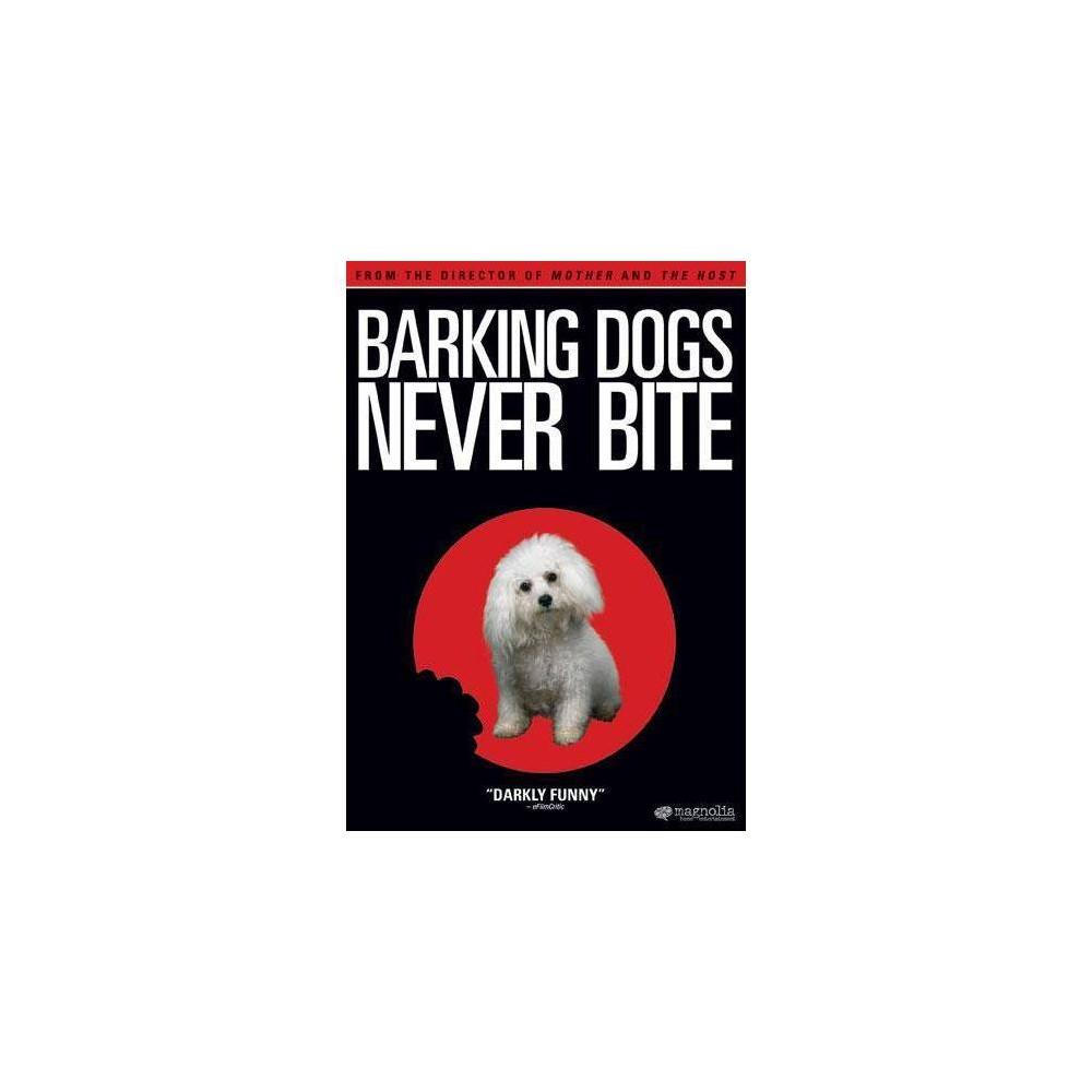Barking Dogs Never Bite Dvd
