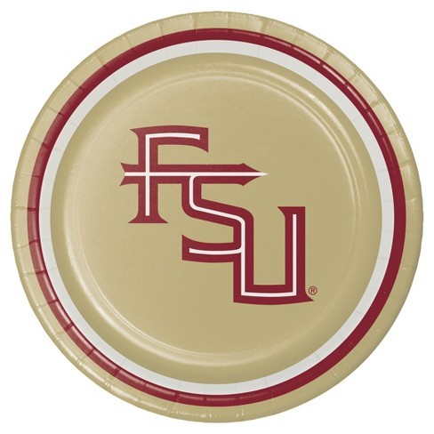 "Florida State University 7"" Dessert Plates - 8ct - image 1 of 1"