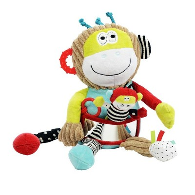 Dolce Play & Learn Monkey Stuffed Animal And Plush Toy