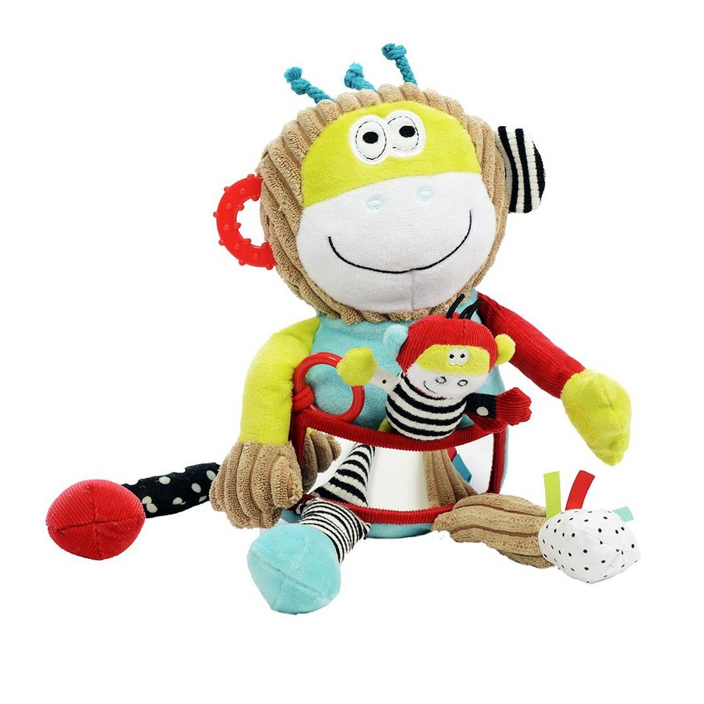 Image of Dolce Play & Learn Monkey Stuffed Animal And Plush Toy