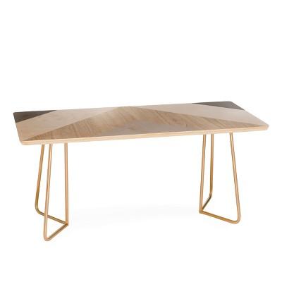 Iveta Abolina Chevron Peak Coffee Table By Deny Designs
