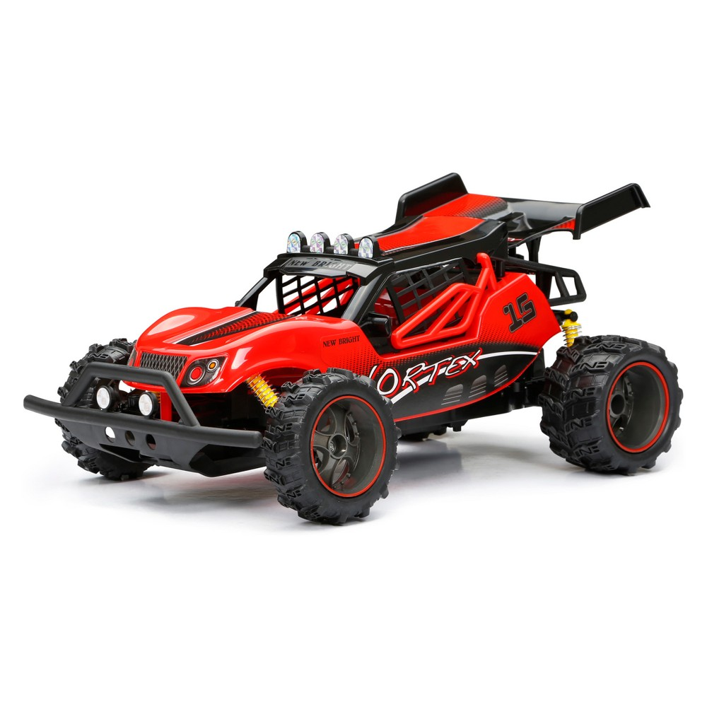 New Bright Radio Control RC FF Chargers Buggy - Red - 1:14 Scale