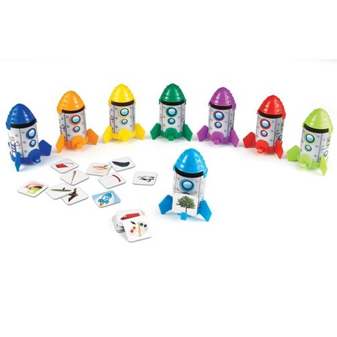 Learning Resources Rhyme/Sort Rockets Activity Set - image 1 of 4