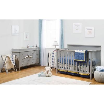 Sorelle Berkley Elite Room in a Box Standard Full-Sized Crib Gray