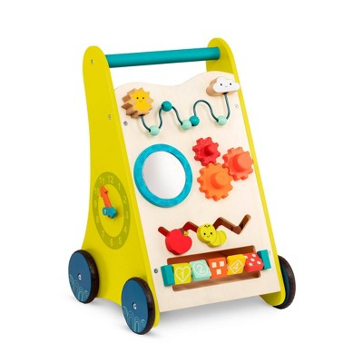 B. toys Wooden Activity Walker - Walk 'n' Learn