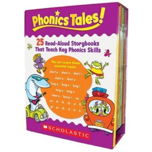 Phonics Tales - by  Scholastic Teaching Resources & Scholastic (Mixed media product) - image 1 of 1