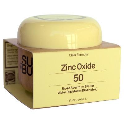 zinc oxide sunscreen