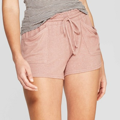 Women's Perfectly Cozy Lounge Shorts - Stars Above™ Mauve M