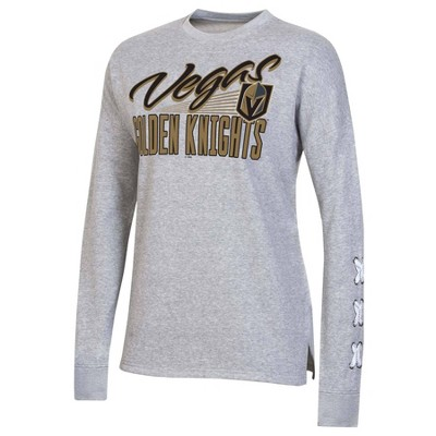 NHL Vegas Golden Knights Women's Netminder Open Neck Fleece Sweatshirt