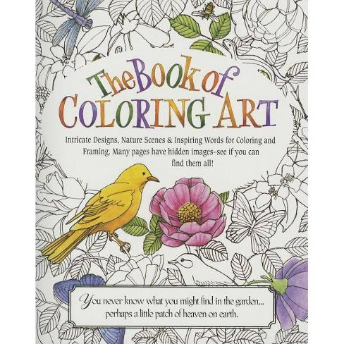 The Book of Coloring Art - (Paperback) - image 1 of 1