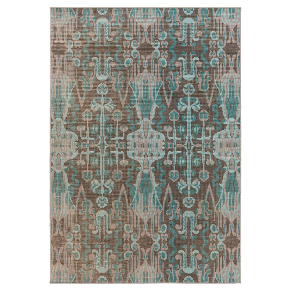 Surya Kechio Accent Rug - Teal (Blue) (2'8 x 5')