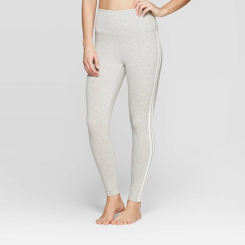 0964407ce37188 Women's Side Stripe Leggings Pajama Pants - Colsie™ Gray : Target