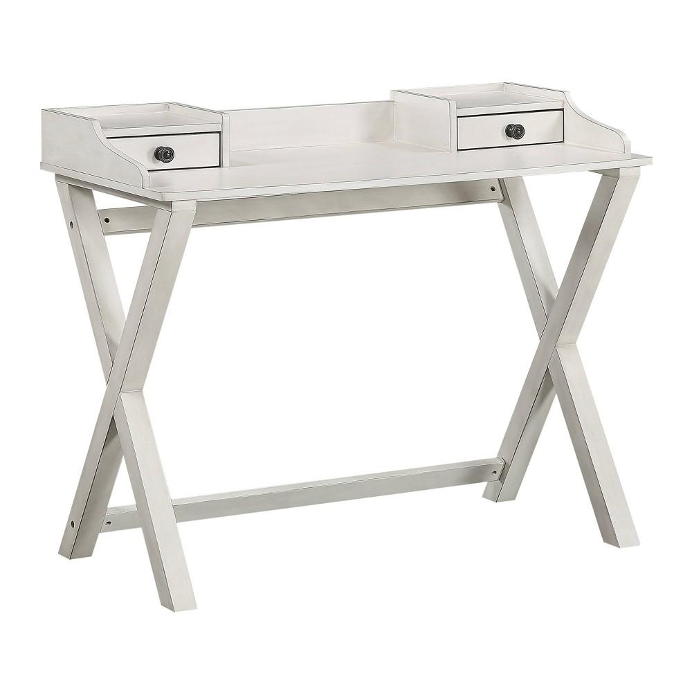 Barton Desk White Osp Home Furnishings