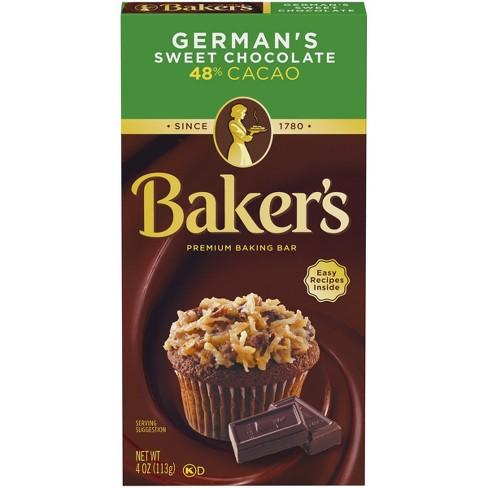 Baker's German Chocolate Baking Bars - image 1 of 3