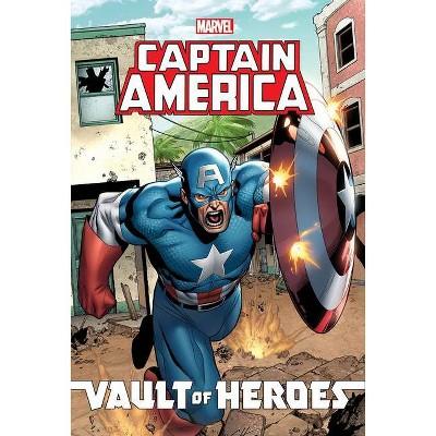 Marvel Vault of Heroes: Captain America - by  Paul Tobin & Scott Gray (Paperback)