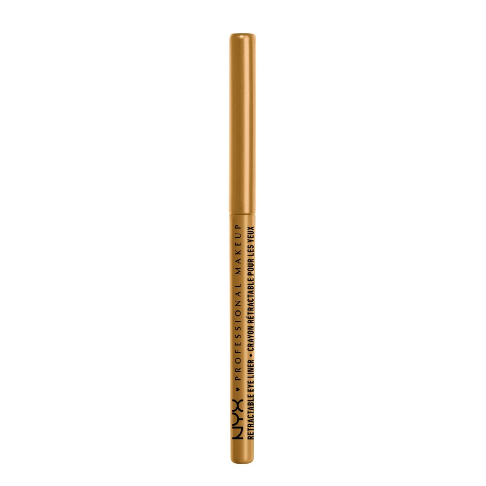 Nyx Professional Makeup Retractable Eyeliner Gold - 0.01oz