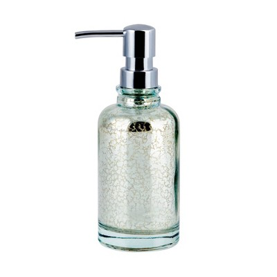 Athena Lotion Pump Blue/Silver - Allure Home Creations