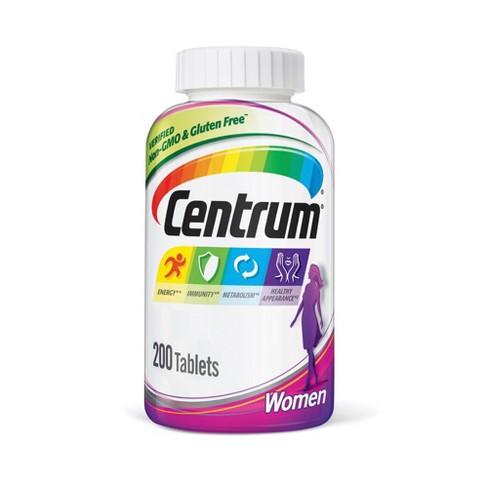 Centrum Women Multivitamin/Multimineral Dietary Supplement Tablets - image 1 of 4